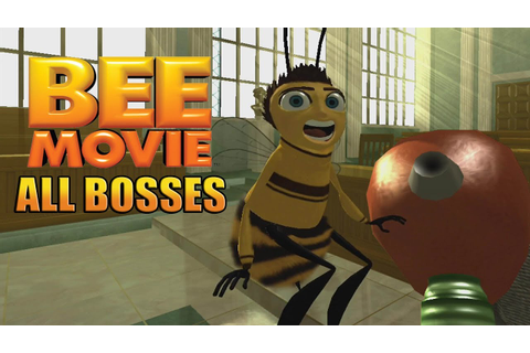 Bee Movie Game All Bosses - YouTube