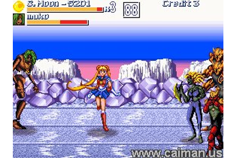 Caiman free games: Pretty Soldier Sailor Moon Plus by ...