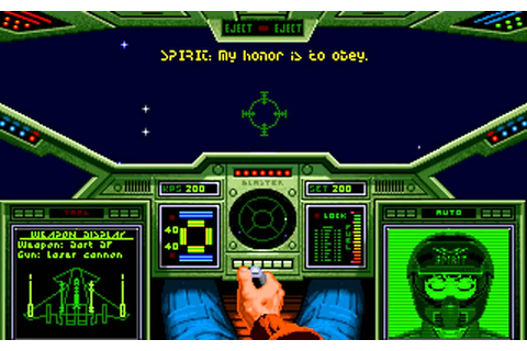 Wing Commander (DOS) - Intro & First Mission (Enyo 1 ...