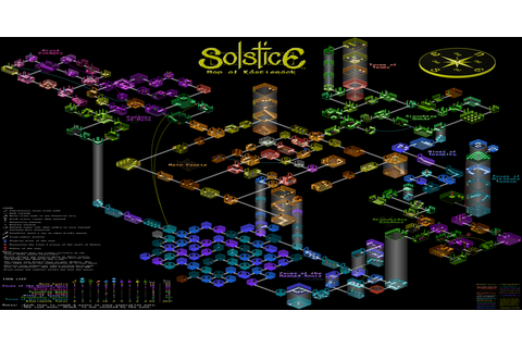 Solstice (video game map) : isometric