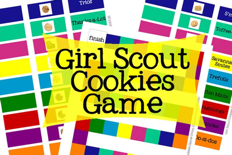 Girl Scout Cookies Game Free Download Printable