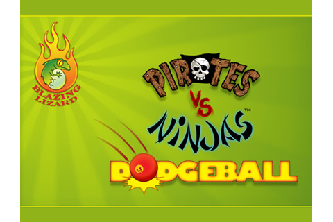 Pirates vs. Ninjas Dodgeball game announced by Blazing ...