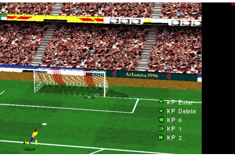 Olympic Soccer Atlanta 1996 Pc Game - YouTube