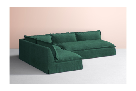 Tassa L-Shaped Sectional | L shape, Couch, Home decor