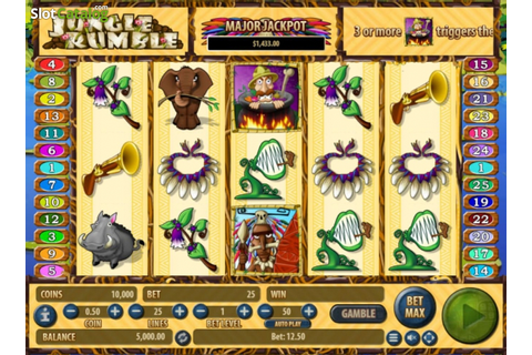 Jungle Rumble Slot Review, Bonus Codes & where to play ...