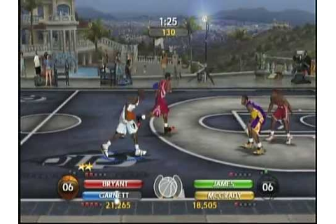 NBA Ballers Phenom (X Box) Game Play - YouTube