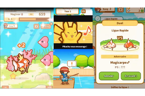 Pokemon Magicarpe Jump 2 : On continue à jouer et à ...