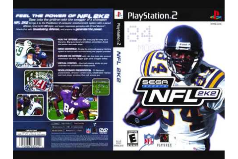 NFL 2K2 Main Menu (Full) - YouTube