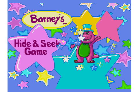 Barney's Hide and Seek Download Game | GameFabrique
