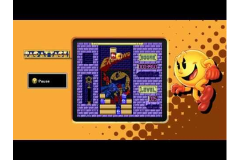 PAC MAN MUSEUM ALL GAMES - YouTube