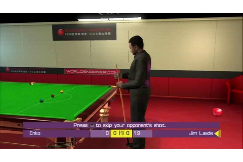 WSC Real 08: World Snooker Championship on Qwant Games