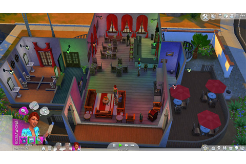 Outdoors Entertainment | The Sim Environment - The Sims 4 ...