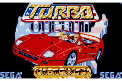 Turbo OutRun (1989) by ICE Software Atari ST game