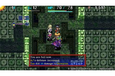 Shiren the Wanderer 5 Plus Review | Mystery Dungeon ...
