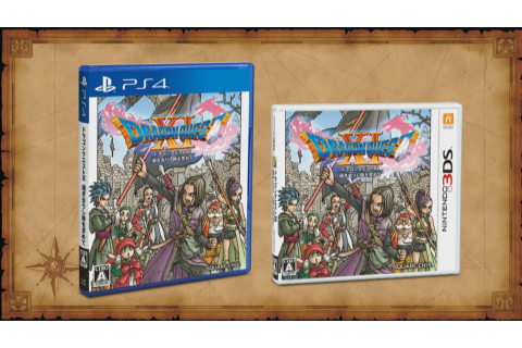 Dragon Quest XI for PS4 and 3DS Gets Final Box Art and ...