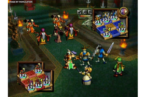 Ogre Battle 64 - Person of Lordly Caliber (USA) N64 ...