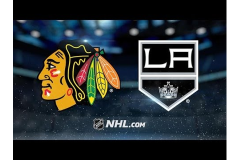Chicago Blackhawks vs Los Angeles Kings NHL Game Recap ...