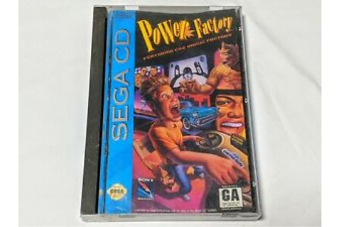 Power Factory Complete Game for Sega CD System **TESTED ...