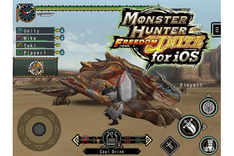 Monster Hunter Freedom Unite - [iOS][Android] - Game ...