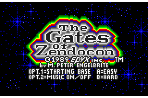 The Gates of Zendocon (1989) by Epyx Lynx game