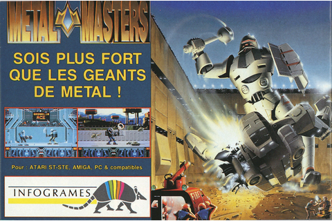 Atari ST Metal Masters : scans, dump, download ...