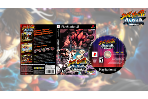 GAMES AND GAMERS: STREET FIGHTER ALPHA ANTHOLOGY PS3/PS2 ...