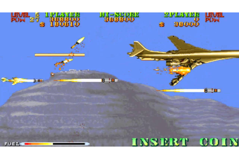Carrier Air Wing Mission 7 1990 Capcom Mame Retro Arcade ...