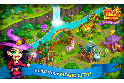 Magic City: fairy farm and fairytale country APK Download ...
