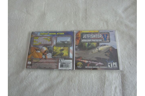 JetFighter V: Homeland Protector (PC, 2003) for sale ...