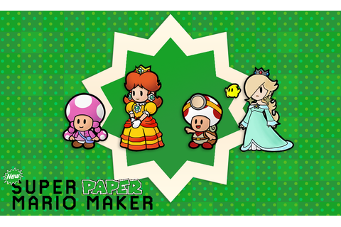 Super Paper Mario Maker by A_esthetical (@A_esthetical) on ...