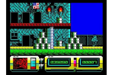 Action Force II Walkthrough, ZX Spectrum - YouTube