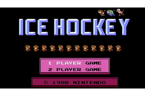 Ice Hockey - NES Gameplay - YouTube