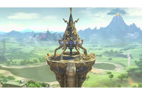 Great Plateau Tower | Nintendo | Fandom