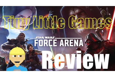 Star Wars Force Arena Android iOS Game Review - YouTube