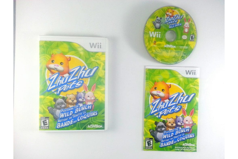 Zhu Zhu Pets 2: Featuring The Wild Bunch game for Nintendo ...