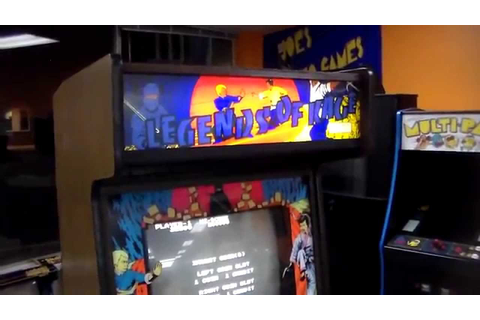 The Legend Of Kage Arcade Game Overview, Artwork, Gameplay ...