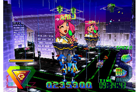 Bulk Slash (1997) by CAProduction Saturn game