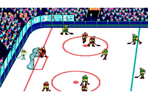 Blades of Steel (PC/DOS) 1990, Konami, Novotrade - YouTube