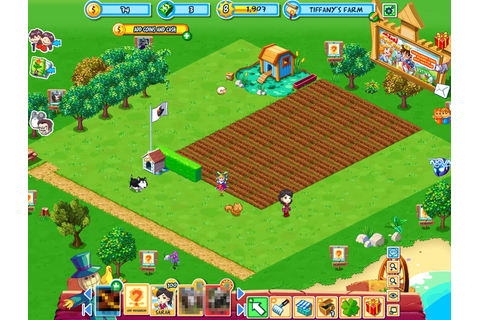 Green Farm Facebook Game | Get Pixelated