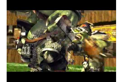 Play Blood Bowl video Orcs Elves Humans Dwarfs video game ...