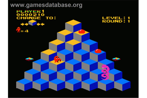 Q*bert - Nintendo NES - Games Database