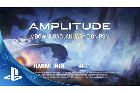 Amplitude - Launch Trailer | PS4, PS3 - YouTube
