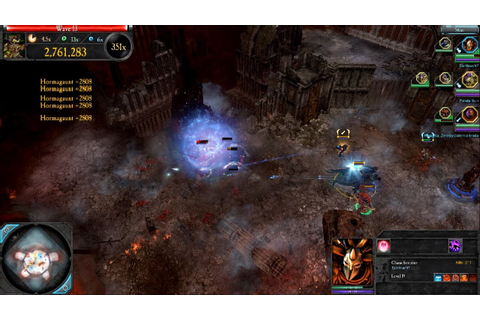 Dawn of War 2 Retribution Last Stand: Chaos Sorcerer ...