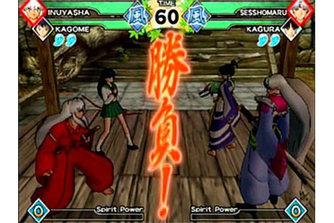 InuYasha: Feudal Combat (2005) by Bandai PS2 game