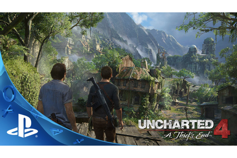 UNCHARTED 4: A Thief's End (5/10/2016) - Story Trailer ...