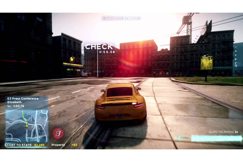 Need for Speed™ Most Wanted Gameplay Video -- E3 2012 ...