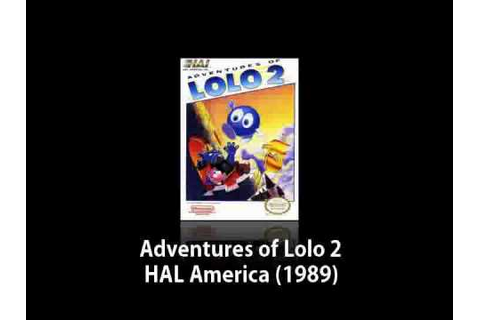 NES - Adventures of Lolo 2 (Music) - YouTube