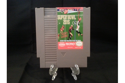 Tecmo Super Bowl 2015 2k15 Nintendo NES Game