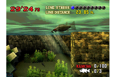 Monster Bass cheats for Sony Playstation - The Video Games ...