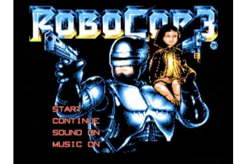 RoboCop 3 (NES) Music - Game Over - YouTube